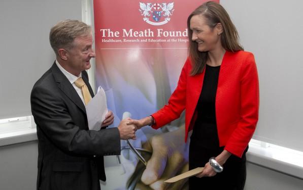 Stephen Lane Dr Holly Delaney Edna O'Flynn Award to Mark Little