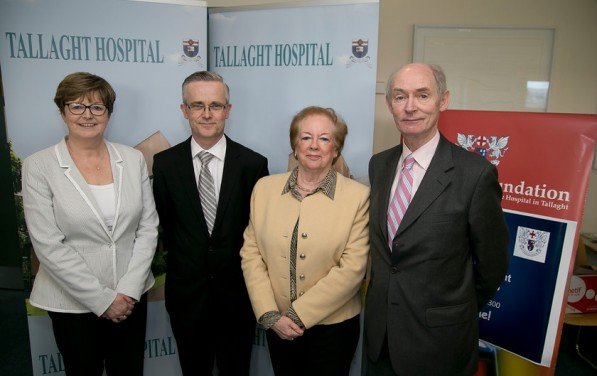 Roisin Boland, Director, Meath Foundation, Raymond Byrne,Director of Research, Law Reform Commission, Mairead Shields, Chairman, Meath Foundation, and Dr John Barraghy, Director, Meath Foundation at the Clinical Audit and Quality Improvement Symposium on Friday 24th April 2015