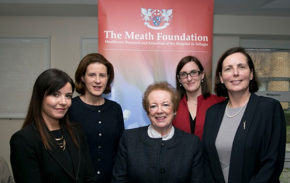 Niamh Smith Claire Hartin Amy Carswell and Mairead Shields and Sibeal Nov 2015